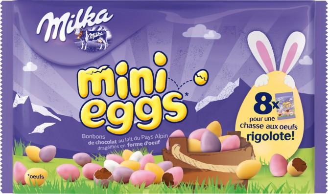 Milka Mini eggs