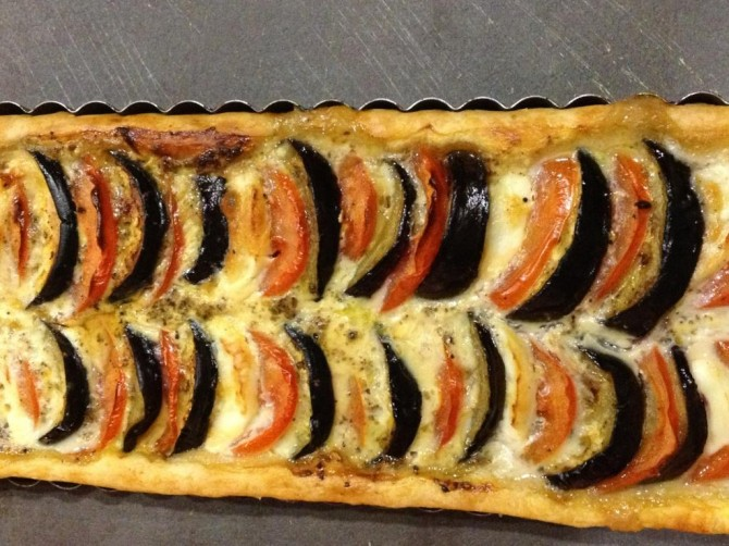 Tarte_aubergines_tomate_mozza