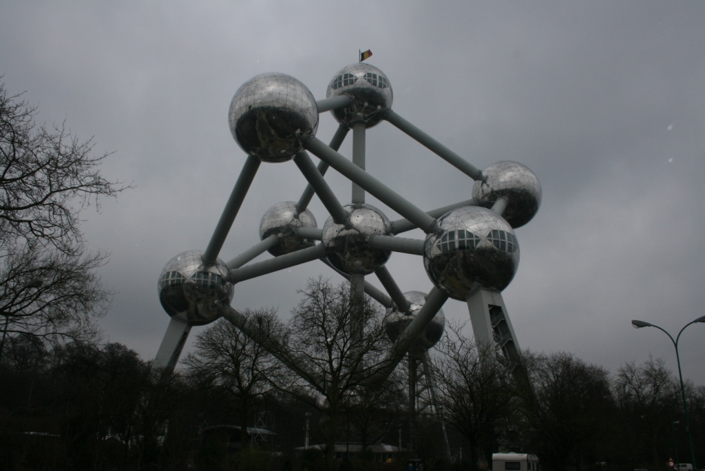 Visite de l&#039;Atomium de Bruxelles
