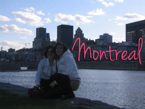 Montreal, here I am !