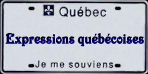 Petit dictionnaire des expressions Quebecoises !