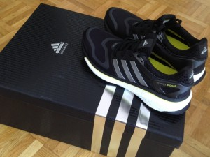 Adidas Boost mes running !