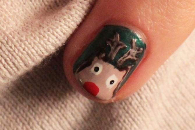 Nail_art_Noel_Rudolph