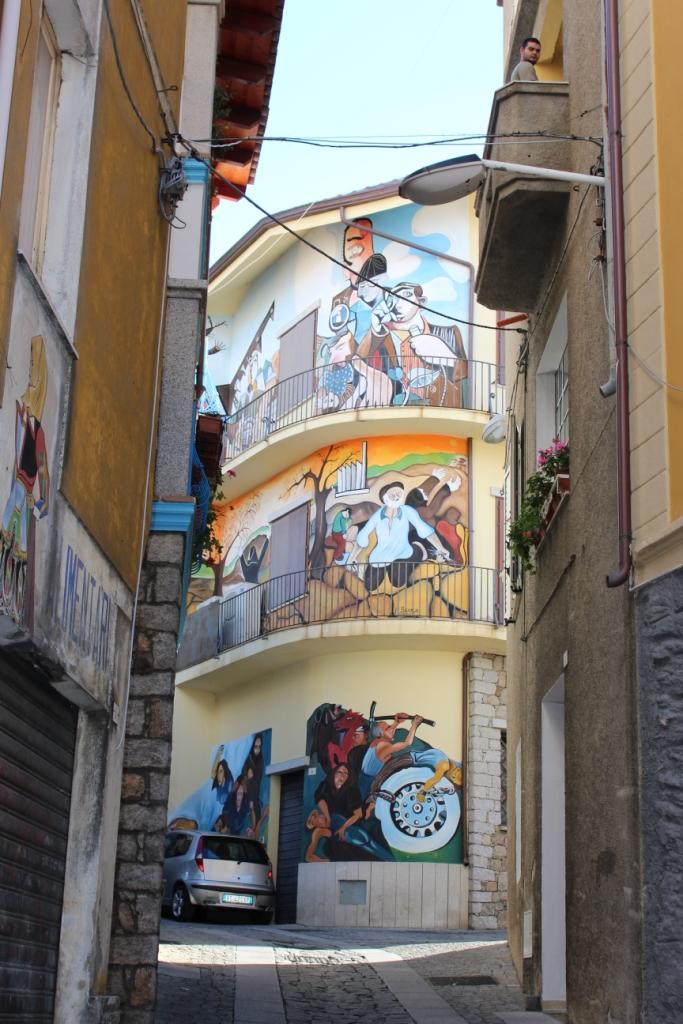 Sardaigne orgosolo et ses peintures murales marinette for Peintures murales