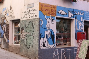 [Sardaigne] Orgosolo et ses peintures murales