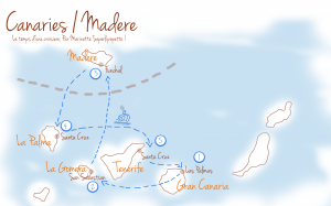Ma jolie croisiere entre Canaries et Madere