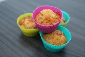 Petits muffins pour egayer le dejeuner !