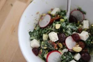 A la mode de la petite salade de Kale