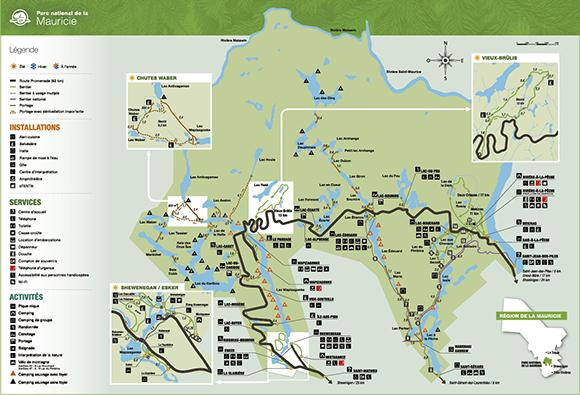 Mauricie-parc-canada-carte