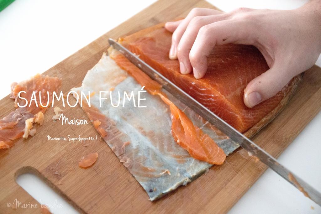 Saumon fumé maison recette - Marinette Saperlipopette