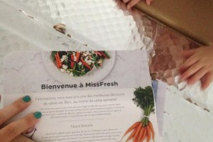 Missfresh ou comment repondre à la question du menu du soir !