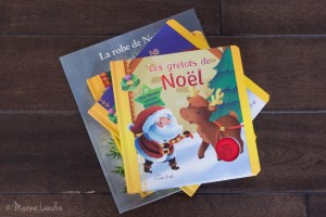 Ses jolis livres de Noel