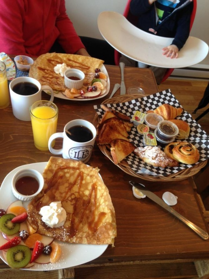 Brunch la grange du boulanger montreal marinette for Articles cuisine montreal