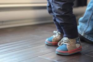 Les premières chaussures