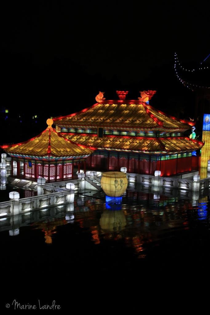 Les lanternes du jardin botanique de montr al marinette - Jardin botanique de montreal heures d ouverture ...