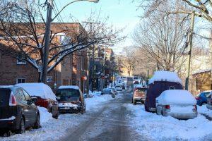 Week-end d'hiver sous le soleil de Montreal