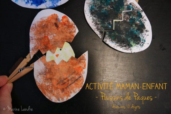 activite-maman-enfant-diy-poussins