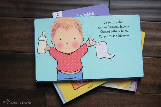 Nos livres pour expliquer le r le de grand fr re et ce for Arrivee de bebe a la maison