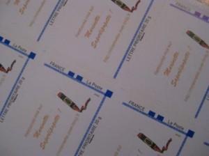 Des timbres à l'effigie de MaRiNeTTe, Saperlipopette !