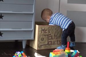Ses jolies caisses de jouets [DIY]
