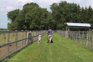 Nos vacances en famille à la ferme